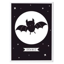 A little lovely company - Plakat - Batman flagermus