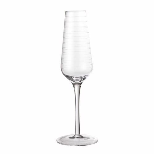 Bloomingville Alva Champagne glas i klar glas