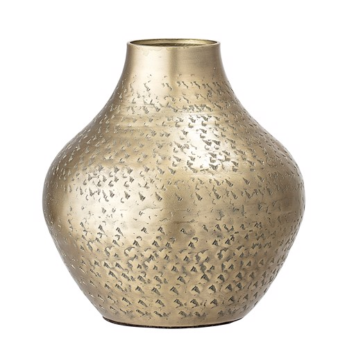 Image of   Bloomingville vase metal messing
