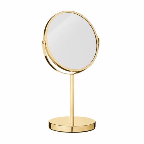 Bloomingville bordspejl Milde i guldfarvet metal