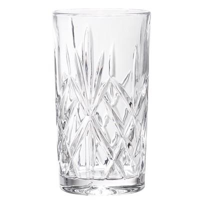 Image of   Bloomingville drikkeglas i klar glas krystal look