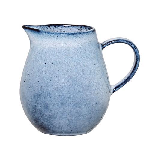 Image of   Bloomingville Sandrine mælkekande i blå stentøj.