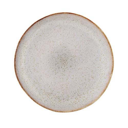Image of   Bloomingville Sandrine middagstallerken i grå stentøj 28,5 cm.