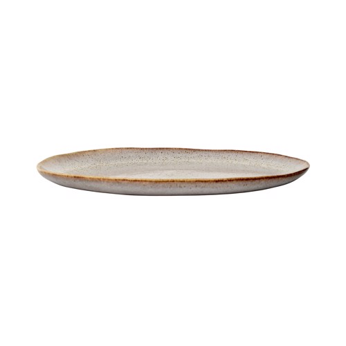 Image of   Bloomingville Sandrine frokoststallerken i grå stentøj 22 cm