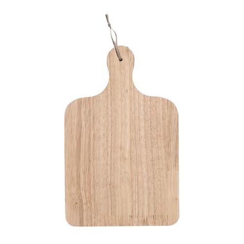 Image of   Bloomingville skærebræt serveringsbræt i gummitræ 31,5 cm
