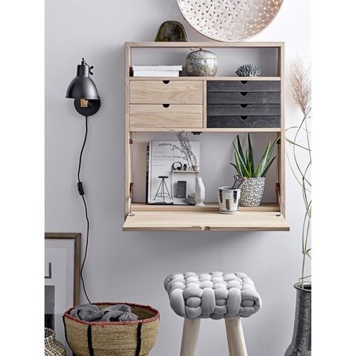 Image of   Bloomingville skrivebord Fabian i egetræ