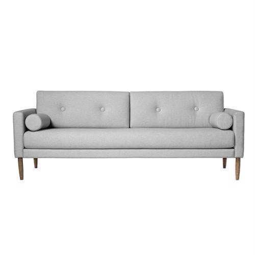 Image of   Bloomingville Sofa Calm lys grå