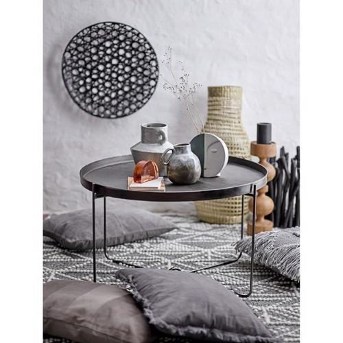 Image of   Bloomingville sofabord Carli i sort aluminium