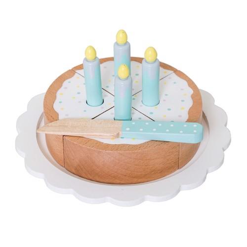 Image of   Bloomingville Mini Trælegetøj kage