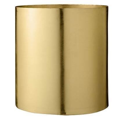 Image of   Bloomingville Urtepotteskjuler Guld metal, stor
