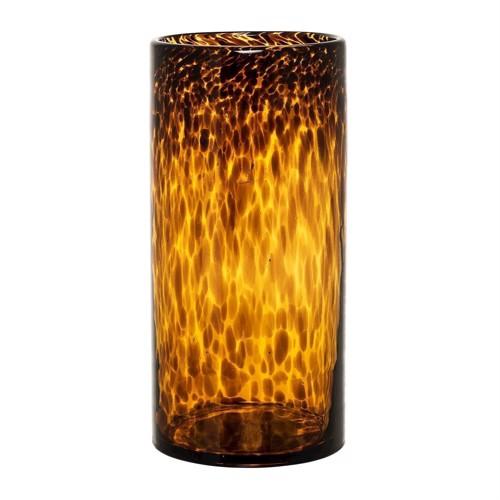 Image of   Bloomingville Vase brun glas