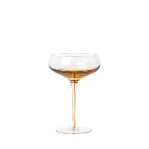 Image of   Broste Copenhagen Amber Cocktailglas