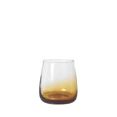 Image of   Broste Copenhagen Amber vandglas 4 stk. Lav