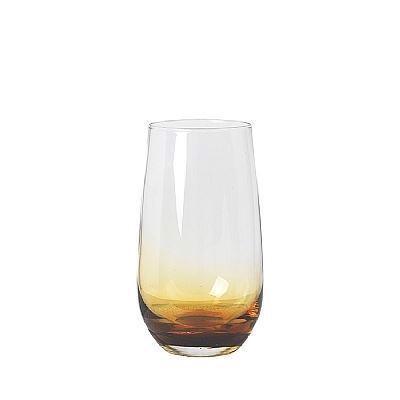 Image of   Broste Copenhagen Amber vandglas 4 stk. Høj