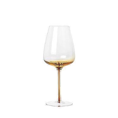 Image of   Broste Copenhagen Amber Hvidvinsglas 4 stk.