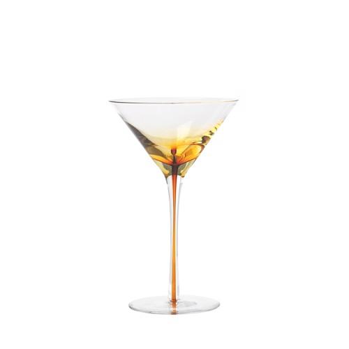 Image of   Broste Copenhagen Amber Martiniglas