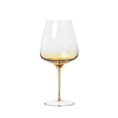 Image of   Broste Copenhagen Amber Rødvinsglas 4 stk.