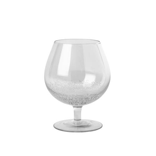 Image of   Broste Copenhagen Bubble Cognacglas