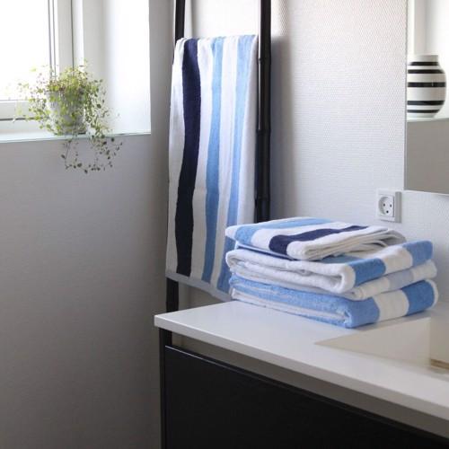 Billede af By Skagen Håndklæde Blå 70x140 cm