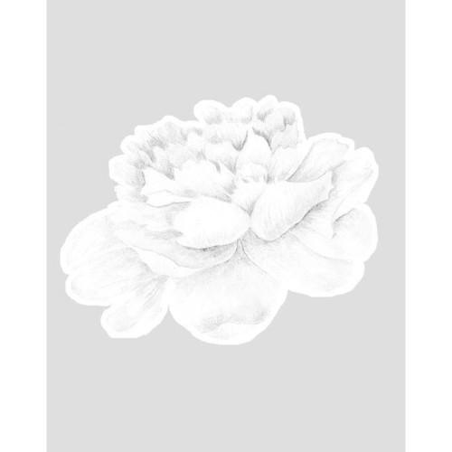 Deko My Dear - Wallsticker Hvid blomst stor