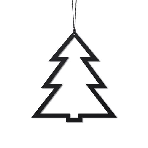 Billede af Felius Design Julepynt Juletræer Sort