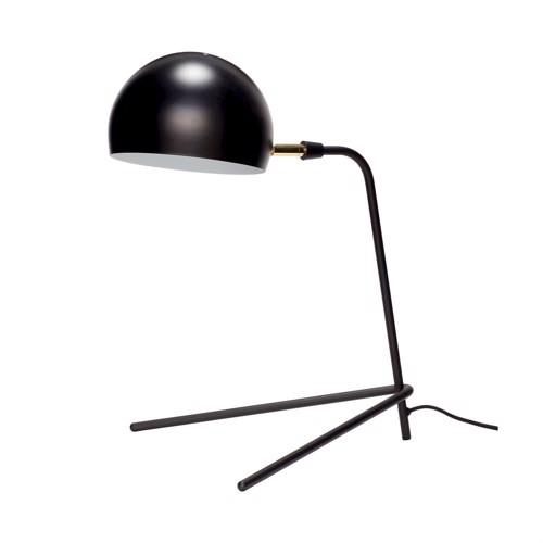 Image of   Hübsch bordlampe sort metal