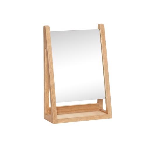 Hübsch bordspejl firkantet Natur