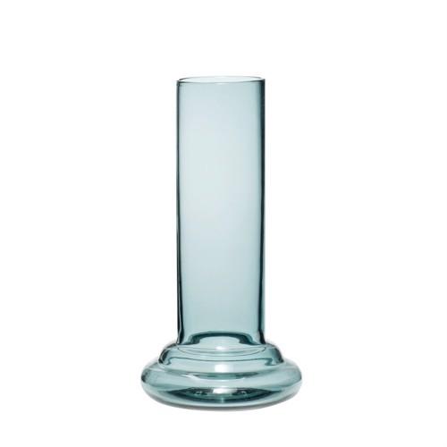 Image of   Hübsch glasvase i blå