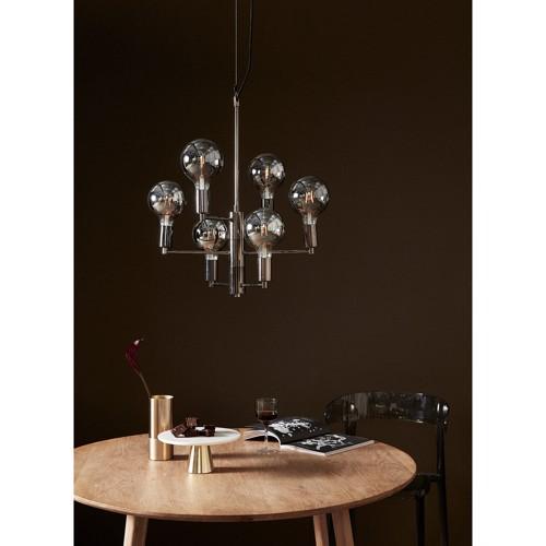 Image of   Hübsch Loftlampe Metal og LED pærer
