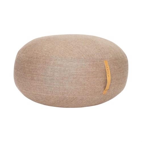 Hübsch puf brun sildebens mønster