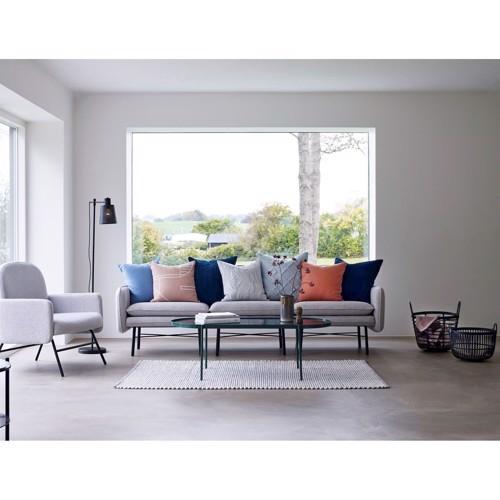 Billede af Hübsch sofa i grå stof