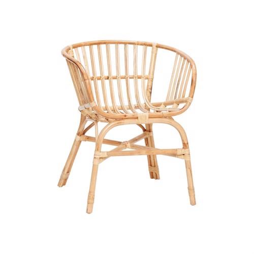 Billede af Hübsch spisebordsstol rattan