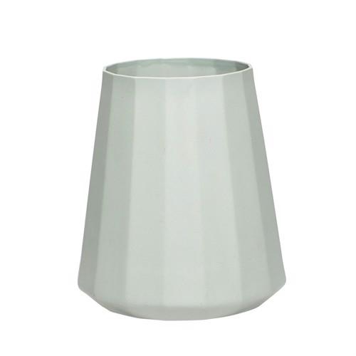 Image of   Hübsch vase i lysegrøn