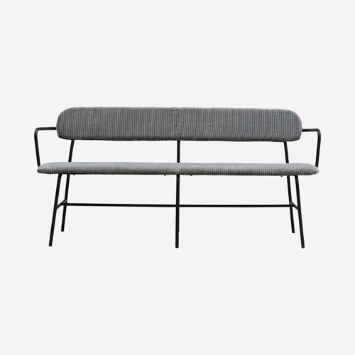 Billede af Bench, Classico, Dark grey, Seat height: 46 cm