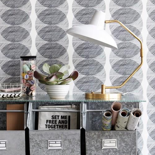 House Doctor lampe Desk grå