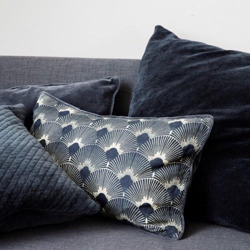 House Doctor sofa pudebetræk Ananda blå