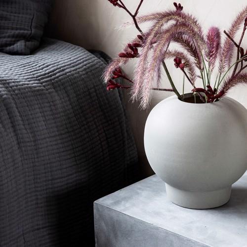 Image of   House Doctor vase Bobble mørkegrå