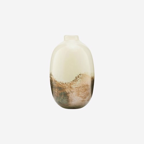 Image of   House Doctor vase Earth Beige/Metallic