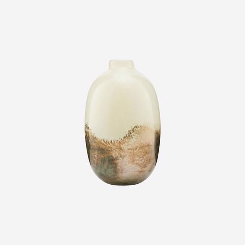 Image of   House Doctor vase Earth Beige/Metallic