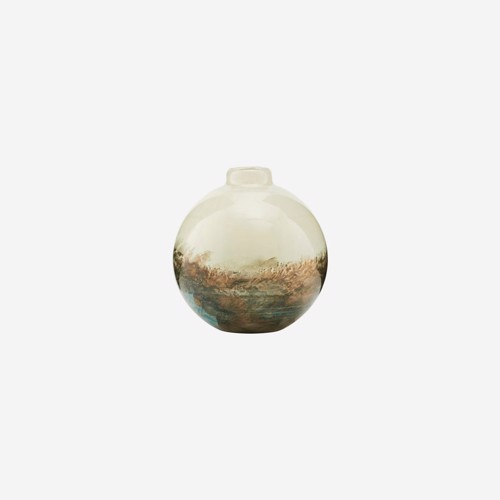 Image of   House Doctor vase Earth Beige/Matallic