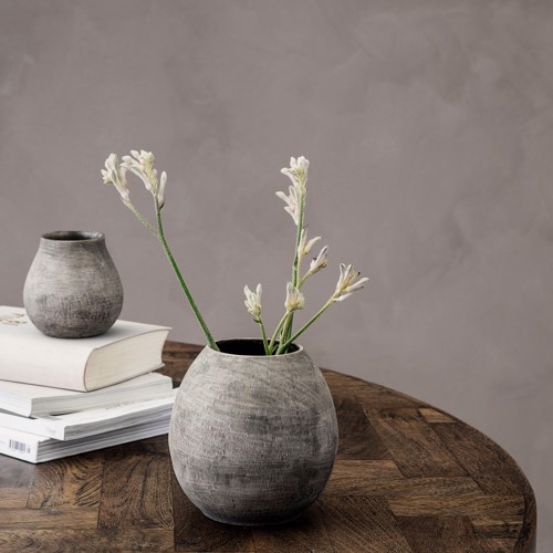 Image of   House Doctor vase Groove i grå