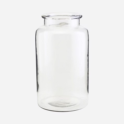 Image of   House Doctor vase Nete i klar glas