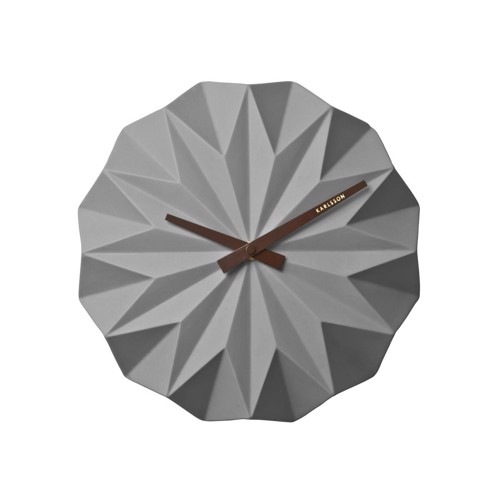 Image of   Karlsson Origami Vægur