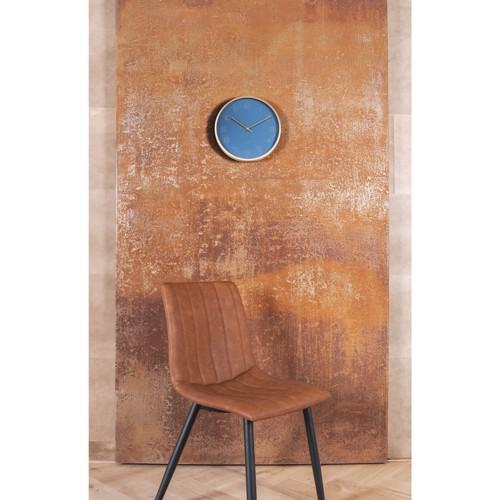 Billede af Karlsson vægur Gold Elegance i blå