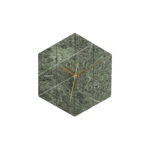 Image of   Karlsson vægur marmor grøn