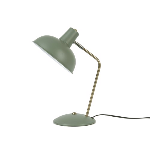 Image of   Present Time Bordlampe Hood Matt Jungle Green