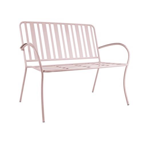 Køb Leitmotiv havebænk Lines rosa