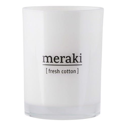 Meraki Duftlys Cotton large
