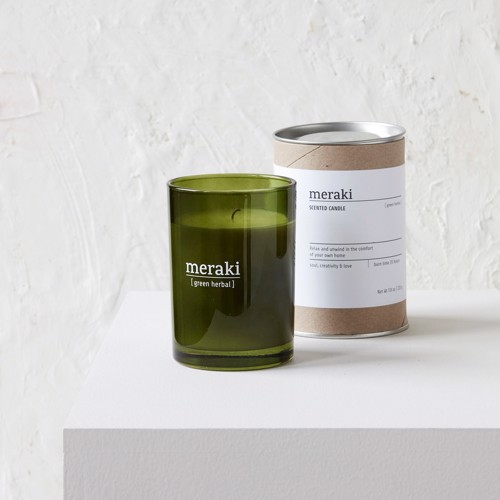 Image of   Meraki Duftlys Green Herbal large