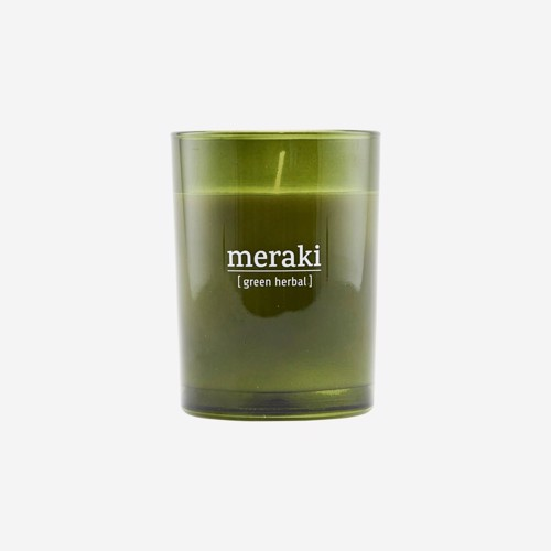 Meraki Duftlys Green Herbal large